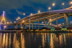 Bhumibol Bridge (ArtyCh.) Tags: phrapradaeng samutprakan thailand th