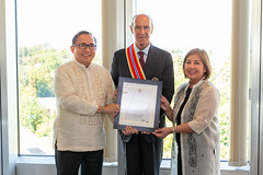 WIPO Director General Receives Philippines Highest National Order of Dipolmatic Merit (WIPO | OMPI) Tags: wipo ompi francisgurry directorgeneral philippines