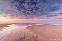 Lovely Pastel! (karindebruin) Tags: jos leefilters maasvlakte nd06hardgrad nederland thenetherlands zonsopkomst zuidholland clouds reflection spiegeling sun sunrise water wolken zon