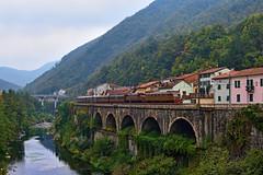 La storia sui Giovi (Paolo Brocchetti) Tags: paolobrocchetti e428 e626 ferrovia bahn rail nikon d810 24120