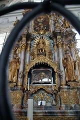 Interieur abdijkerk Muri. (limburgs_heksje) Tags: zwitserland schweiz swiss muri abdij kerk klooster interieur