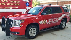 Battalion 121 (Central Ohio Emergency Response) Tags: plain township new albany fire department truck chevy tahoe battalion chief