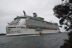 Voyager of the Seas, Port Kembla (RossCunningham183) Tags: voyageroftheseas portkembla wollongong australia cruiseship pilot tugboat royalcaribbean workingboats portkemblaharbour harbour bonvoyage