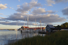 evening sky (wortenoggle) Tags: miles river evening sky museum chesapeake talbot maryland