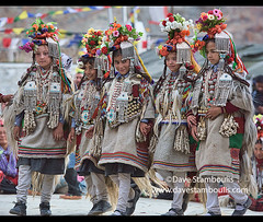 Aryan (Brogpa) girls dancing at a traditional festival, Biama village, Ladakh, India (jitenshaman) Tags: travel worldtravel destination destinations asia asian india indian ladakh ladakhi ethnicminorities ethnicminority tribe tribal dha dhahanu aryan aryans aryanvalley ethnic ethnicity minorities minority brokpa dard brokpas dards festival costume headdress traditional tradition wear fashion brogpa brogpas festivals baima dhavalley lastang women dance dancing culture cultural biama