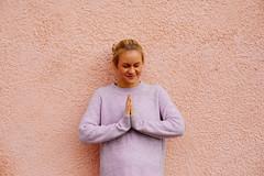 Namaste (Juha Helosuo) Tags: canon eos 5d mark iv ef50mm f14 usm namaste girl beautiful yoga time good life photography portrait cozy hygge autumn fall vibes blonde