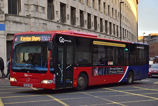 Go North East Riverside Based NK58DWA Mercedes Citaro