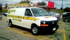 Electrical repair truck - HTT (Maenette1) Tags: electrical repair truck mmplaza menominee uppermichigan happytruckthursday flicker365 allthingsmichigan absolutemichigan projectmichigan