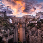 Sunset in Ronda - Andalucia, Spain - Travel photography thumbnail