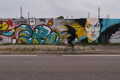 En Bretagne (pictopix) Tags: bretagne art tag peinture mur couleurs urbain route cycliste exposition lente vitesse regard streetart saintnazaire oeuvre