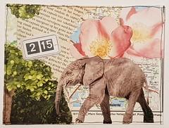 CC: Scavenger Hunt Collage Postcard 1 (marian journallove73) Tags: postcard scavengerhunt mailart collage creativecollage cc swapbot pc swapbotcom