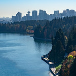 Stanley Park from the Lions Gate Bridge thumbnail