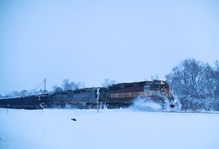 Old Time Wheeler (view2share) Tags: wc6521 sd45 gcfx6075 gcfx6074 sd40 sd402 eastbound engine emd electromotivedivision evening wi wisconsin wheeler siding hoppercar hopper leaser lease snow snowfall snowplow snowcover deansauvola february32003 february2003 february 2003 freight freighttrain freightcar freightcars mill feedmill westernwisconsin midwest railroading railway railroads rail rr rails railroaders rring railroad roadtrip track trains transportation tracks train transport trackage trees travel winter dusk minneapolissub cn canadiannational wc wisconsincentral
