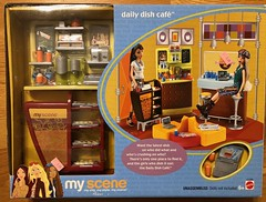$6 thrift store find (Foxy Belle) Tags: thrift store dolls scene barbie bargain daily dish cafe nib