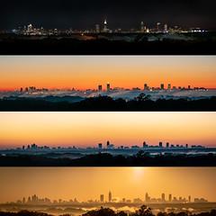 Sunrise Composite (JustinDustin) Tags: 2018 architecture atlanta ga georgia location mableton middlegeorgia nga northamerica northgeorgia sky skyline structure sunrise us usa unitedstates westside year