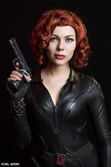She Seduces With Deadly Force... (Ring of Fire Hot Sauce 1) Tags: cosplay blackwidow avengers quirkygirlcosplay portrait beauty glamour wondercon