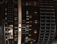 Orange 32 (heinrich_511) Tags: iphone6plus objektiv schärfentiefe trier dof depthoffield heinrich ais japan closeup makro retro vintage micronikkor2855mm nikon orange32 measurement macromondays