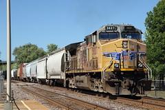 Hermann MO, USA (Paul Emma) Tags: usa missouri hermann railroad railway dieseltrain train unionpacific 5827