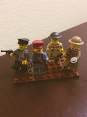 WW1 Officers! (thelameguitarist) Tags: lego ww1 officers german british brickarms brickmania