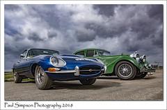 Jaguar Cars (Paul Simpson Photography) Tags: jaguar juguarcars british classiccars paulsimpsonphotography cars transport sonya77 carphotos photoof photosof imagesof imageof airfield lincolnshire september 2018 tyres headlights sportscar