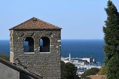 Trieste, Ausblick vom Castello di San Giusto