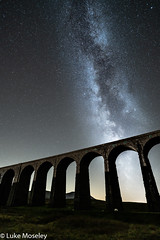 Ribblehead Galaxy (manphibian) Tags: astrophotography milkyway milky way space nioght sky longexposure long exposure sony a7rii tokina firin 20mm f2 ribblehead viaduct yorkshire moors england nightsky night astro visit alpha