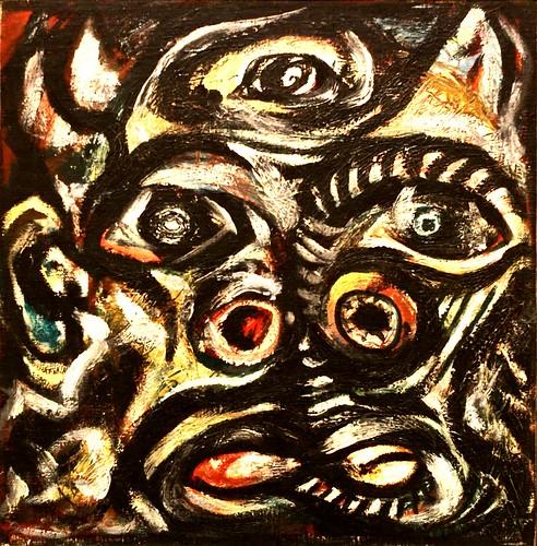 Head (1938-1941) - Jackson Pollock (1912-1956)