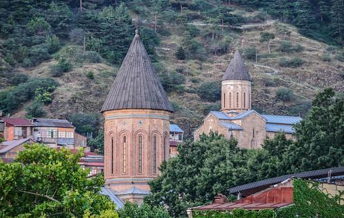 Domes dotting Tbilisi's Cityscape