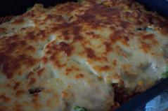 DSC09682 (Kirayuzu) Tags: nudelauflauf gemüseauflauf auflauf nudeln pasta gemüse brokkoli karotten mais erbsen speck bacon selbstgekocht selbstgemacht
