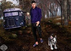 LOTD 279 (Brendo Schneuta) Tags: galvanized modulos sweater hair clefdepeau hxnor sandals dog wrong poses pose mancave joggers pants hipster mom mens male boy moda fashion style estilo blog bloggersl blogger secondlifeblog sl secondlife second game avatar fatpack keepcalm event events releases new catwa bento jian