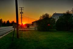 Sun Sets on Summer (kendoman26) Tags: hdr nikhdrefexpro2 sunset nikon nikond7100 tokinaatx1228prodx tokina tokina1228 morrisillinois