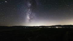 Milky Way Over Borrego Springs From Font's Point in the Anza-Borrego Desert (slworking2) Tags: