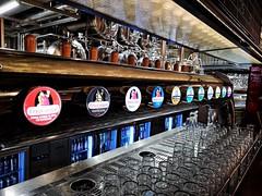 La Fábrica, Málaga. (Ian, Bucks) Tags: bar beer fontheads cruzcampo spain malaga