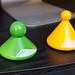 TMX Original Trigger zur Lösung von Muskelverspannung in Grün und Gelb