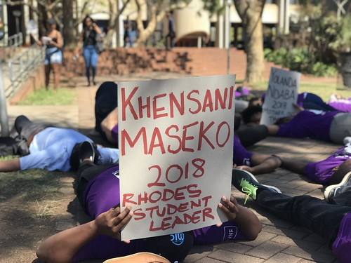 South Africa Silent Protest 2018