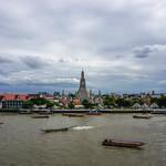 River View of Wat Arun in Bangkok thumbnail