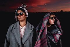 Irina & Valeriya (plotkamusic) Tags: night girls fashion russian xxl sizeplus models glitter