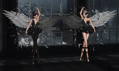 The Black Swan (Venom Zanzibar) Tags: sl secondlife on9 event virtualdivacouture mosquitosway ballet