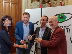 #63Seminci - Firma del convenio de colaboración con Ribera del Duero (10/10/2018) (SEMINCI) Tags: valladolid cine seminci