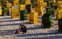 Strandkörbe in Binz (Blinde 8) Tags: balticsea binz deutschland germany ostsee rugia rügen strand strandkorb beach beachchair