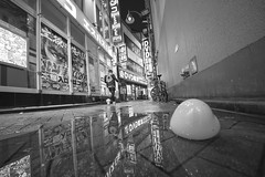 ESPACE (ajpscs) Tags: ©ajpscs 2018 ajpscs japan nippon 日本 japanese 東京 tokyo city people ニコン nikon d750 tokyostreetphotography streetphotography street seasonchange fall autumn aki あき 秋 shitamachi night nightshot tokyonight nightphotography citylights tokyoinsomnia nightview dayfadesandnightcomesalive strangers urbannight attheendoftheday urban othersideoftokyo walksoflife tokyoscene anotherday streetoftokyo alley tokyoalley monochromatic grayscale monokuro blackwhite blkwht bw blancoynegro blackandwhite monochrome espace