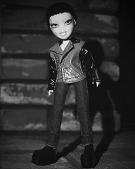 Fierce Awakening Cycle 2 - Monsters of Hollywood: Louise Nordoff as Frankenstein's Monster (sailorb1959) Tags: bratz doll mga frankenstein monster halloween spooky horror androgynous movie fashion