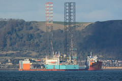 Dockwise White Marlin - Burntisland - 28-10-18 (MarkP51) Tags: ship boat vessel nikon d7100 sunshine sunny maritimephotography dockwisewhitemarlin firthofforth burntisland heavyloadcarrier imo9670224 nikon200500f56vr