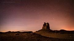 Pinnaclescape (TomGrubbe) Tags: night stars trona tronapinnacles tufa bigdipper desert california landscape