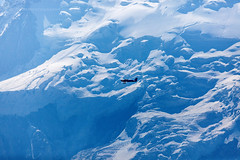 Small plane and Mt Blanc (hsadura) Tags: alpes auvergnerhonealpes chamonix chamonixmontblanc europe france mtblanc plane alps flying glacier illuminated landscape mountain nature outdoors panorama peak sky skyline snow travel white aerial blue