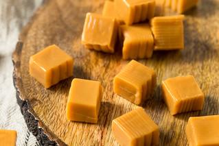 Sweet Homemade Caramel Squares