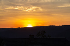 Königstuhl September Sunset 2018 I (boettcher.photography) Tags: sashahasha boettcherphotography boettcherphotos sky himmel clouds wolken silhouette horizon horizont königstuhl heidelberg sonnenuntergang sonne sun sunset september roof dach abend evening dilsberg neckargemünd rheinneckarkreis badenwürttemberg