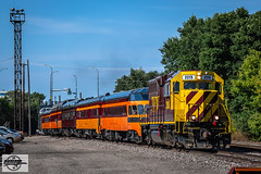 TCWR-MILW 261 2018 AAPRCO Convention Special Passenger Train at Minneapolis, MN (Mo-Pump) Tags: train railroad railfan railroader railway railroading railroads locomotive