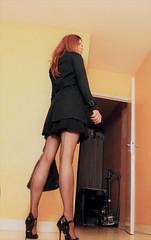 597 (Lily Blinz) Tags: crossdress crossdresser crossdressed crossdressing tgirl travesti transvestite tv tg tranny transgender transgenre trav trans lily lilyblinz blinz stocking
