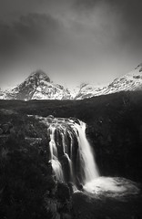 Fairy Pools, Isle of Skye, Scotland (florian.diebold) Tags: fairypools isleofskye scotland longexposure blackandwhite blackwhite bw waterfall riverbrittle